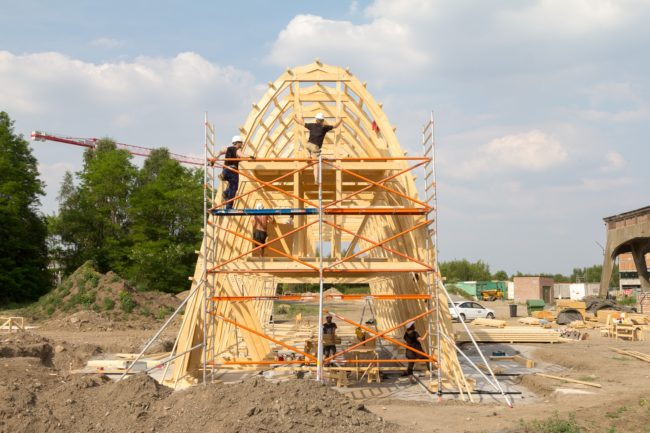 The Arch in opbouw (Foto: ConstructLab)