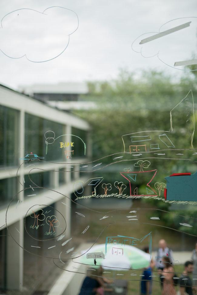 Workshop De gelaagde stad (Foto: Jasper Leonard)