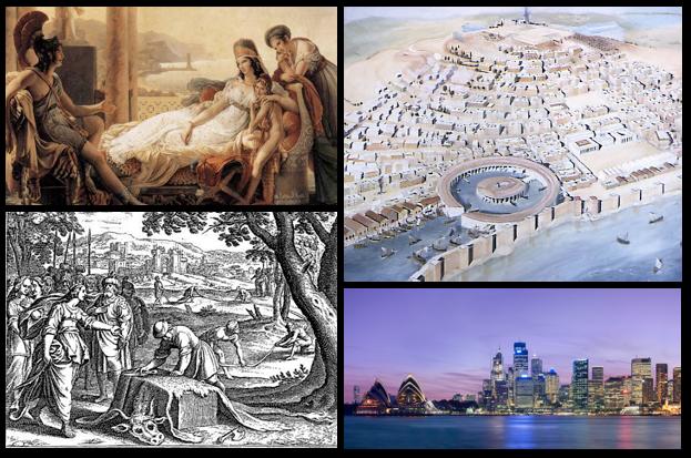 Dido en de stichting van de stad