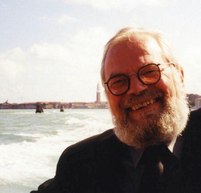 Geert Bekaert in Venetië (Foto: Arjen Oosterman)