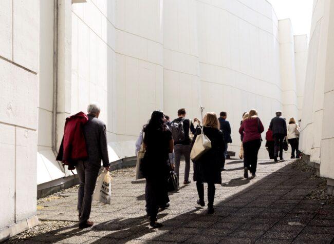 Architectuurwandeling met Expeditie De Stad (Foto: Zena Van den Block)
