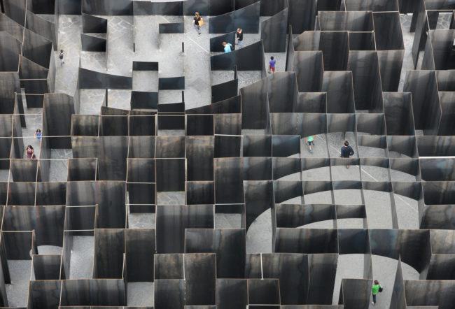 Labyrint C-Mine, Gijs Van Vaerenbergh (Foto: Filip Dujardin)