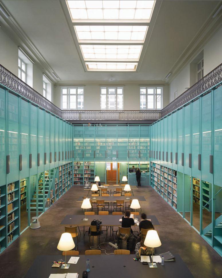 Architectuurbibliotheek UGent, OFFICE Kersten Geers David Van Severen (Foto: Bas Princen)