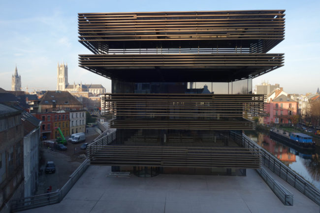 Bibliotheek De Krook, Coussée & Goris architecten i.s.m. RCR Aranda Pigem Vilalta Arquitectes (Foto: Coussée en Goris)