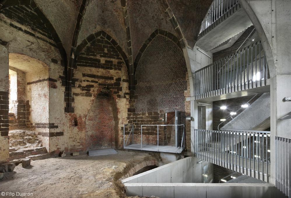 Maagdentoren, De Smet Vermeulen Architecten (Foto: Filip Dujardin)