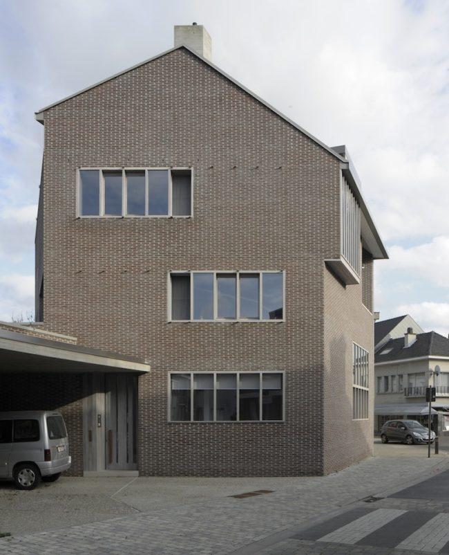 Woning met praktijkruimte, MJose Van Hee Architecten, Mattias Deboutte (Foto: David Grandorge)