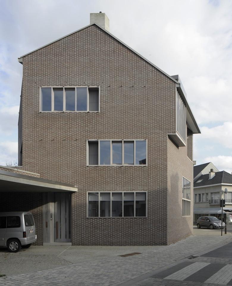 Woning met praktijkruimte, MJose Van Hee (Foto: David Grandorge)
