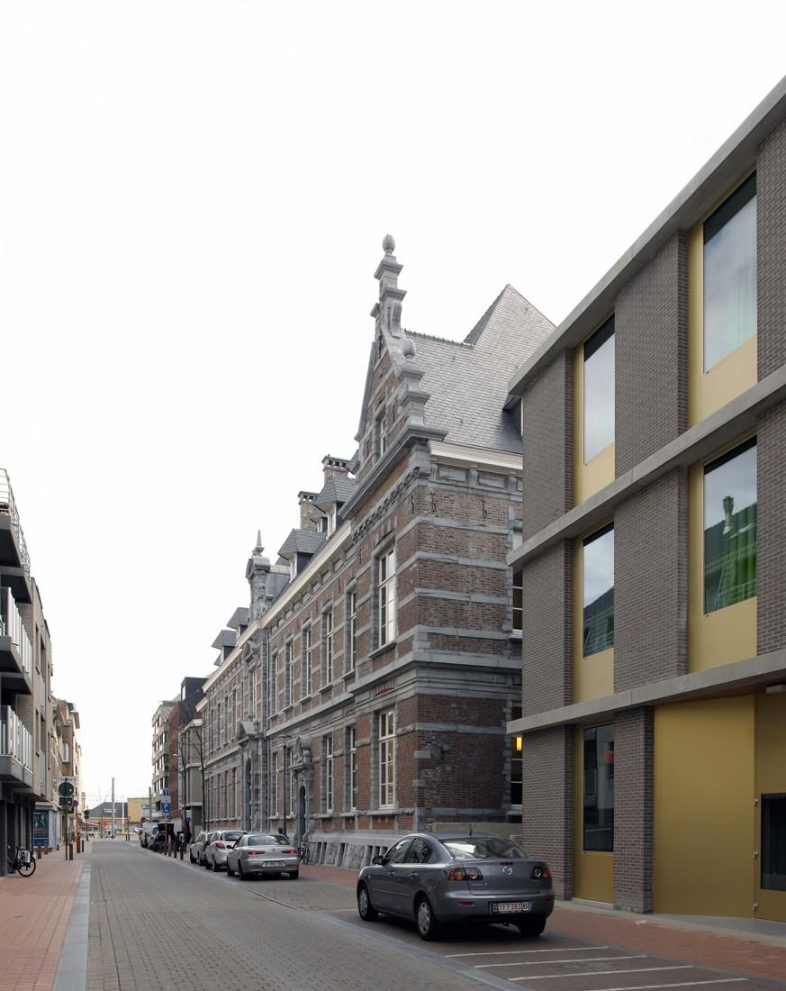 Bibliotheek Blankenberge, Sergison Bates architects (Foto: Sergison Bates architects)