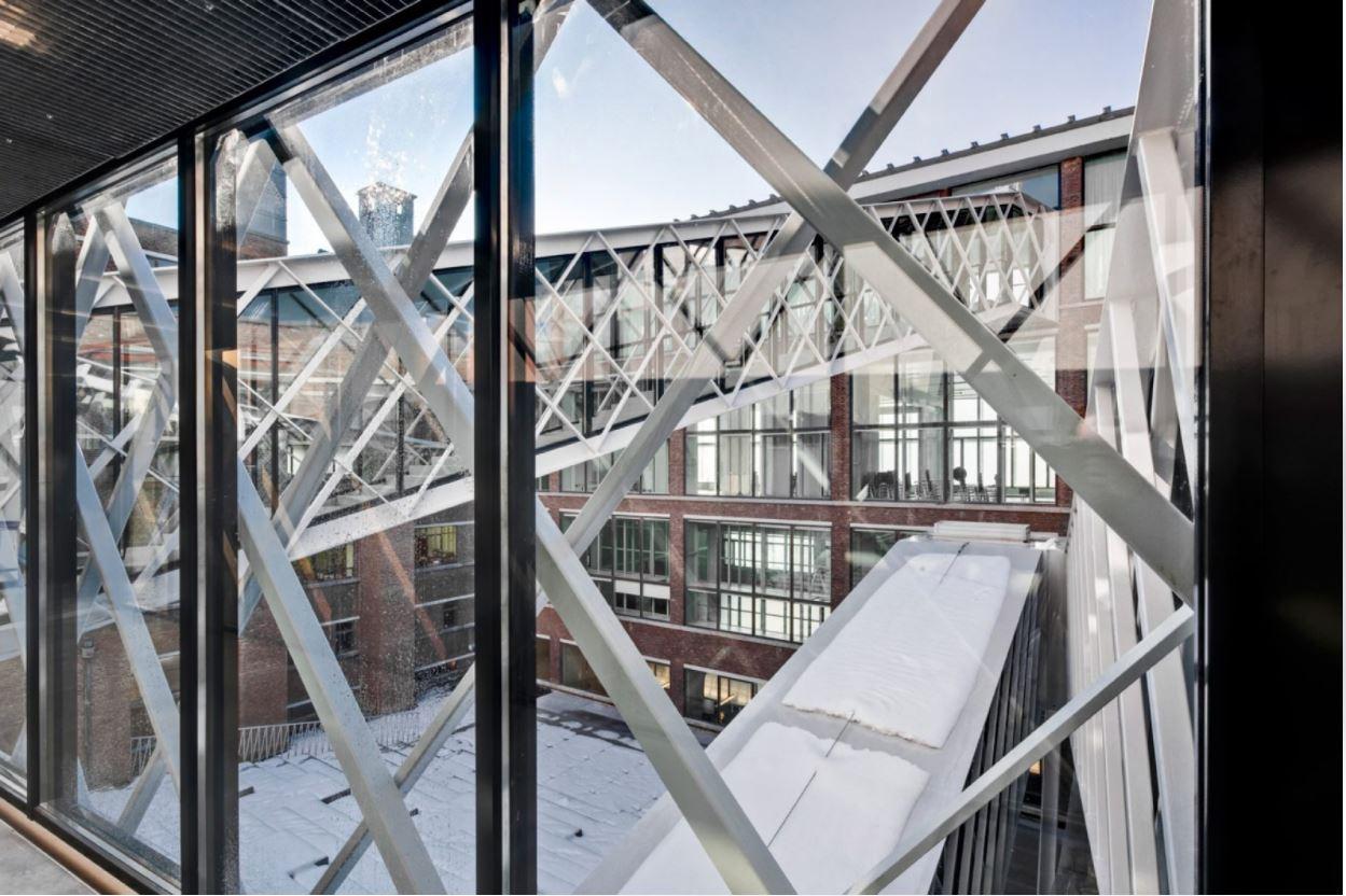 Postgebouw Oostende (CC De Grote Post), B-architecten (Fotograaf: Christophe Van Cauteren)