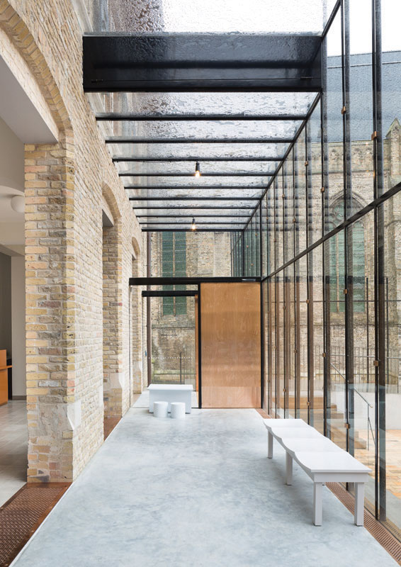 Stadhuis Diksmuide, ONO architectuur i.s.m. Callebaut architecten (Foto: Frederik Vercruysse)