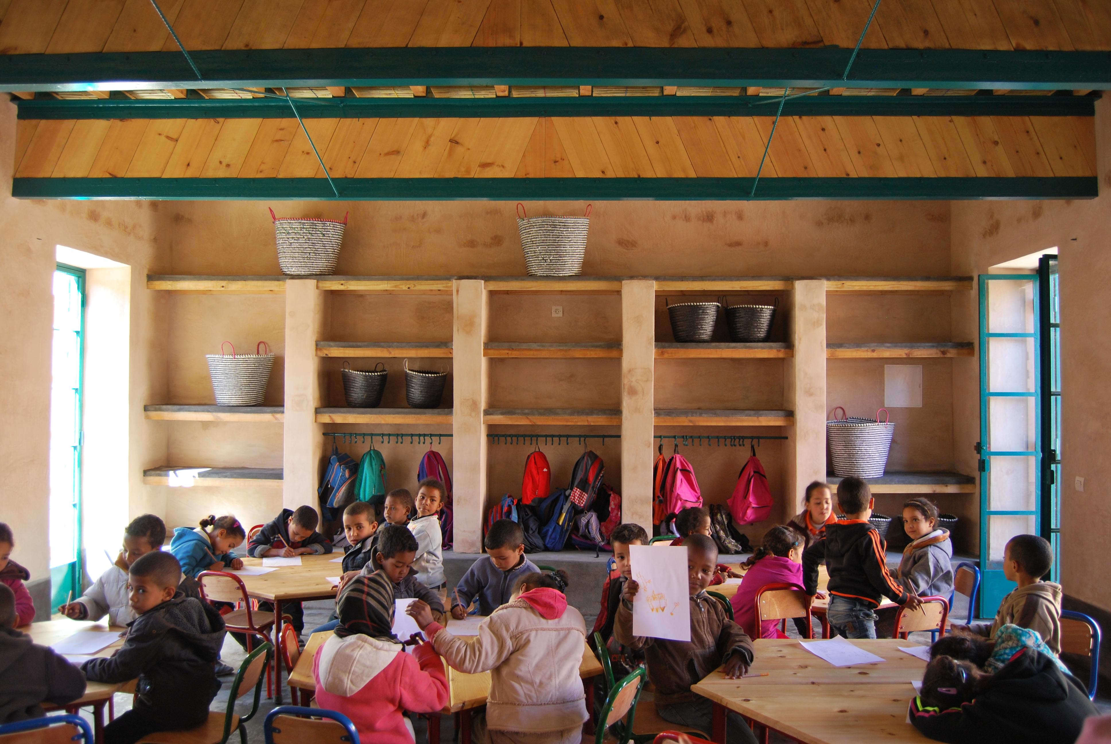 Kleuter- en basisschool, Ouled Merzoug, (c) BC architects & studies