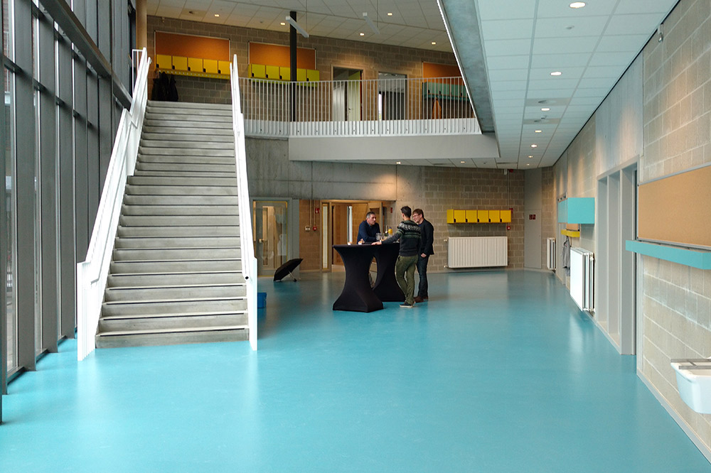 Vrije basisschool Sint-Paulus, Stramien (Foto: Stramien)