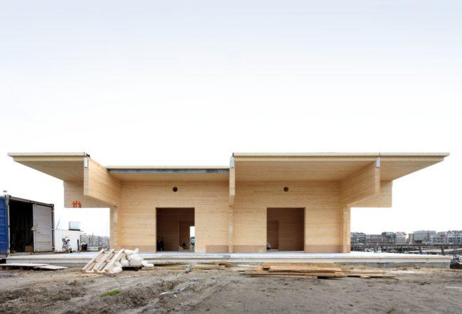 Royal Belgian Sailing Club Alberta, Wim Goes Architectuur (Foto: Filip Dujardin)