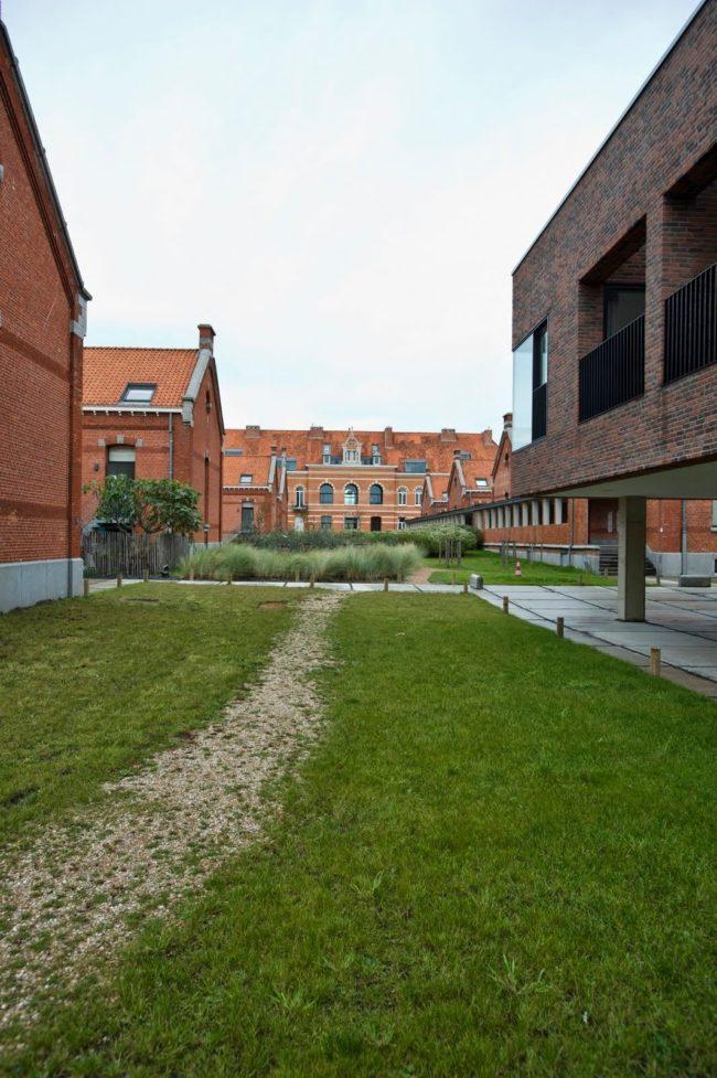 Militair Hospitaal Oostende, Beel & Achtergael en Groep III (Foto: Vanhaerents Development)