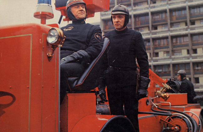Fahrenheit 451, de eerste kleurenfilm van Truffaut