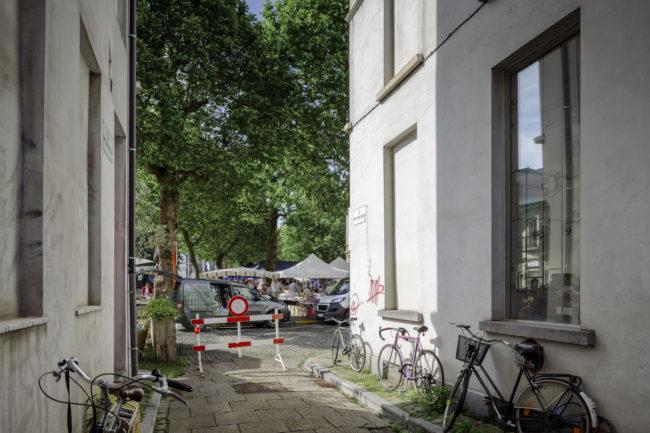 Publieke ruimte binnenstad (Foto: Olmo Peeters)