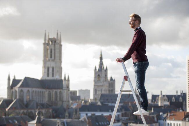 Peter Vanden Abeele, Stadsbouwmeester Gent (Foto: SBM Gent)