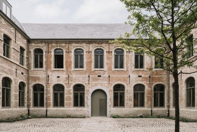 Restauratie Predikherenklooster tot Stadsbibliotheek Mechelen, ism KSA & BB (Foto: Allt)