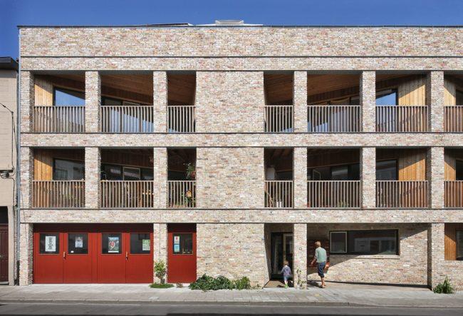 Cohousing De Schilders - Havana architectuur (Foto: Filip Dujardin)