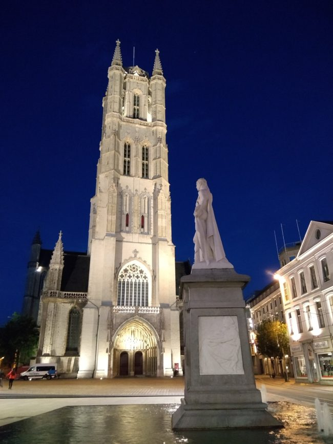 Lichtplanwandeling Gent (Foto: Dept. Stedelijke Ontwikkeling Gent)