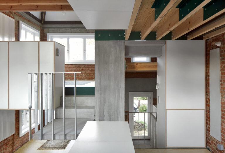 Eagles of Architecture, Woning Begijnhoflaan (Foto: Filip Dujardin)