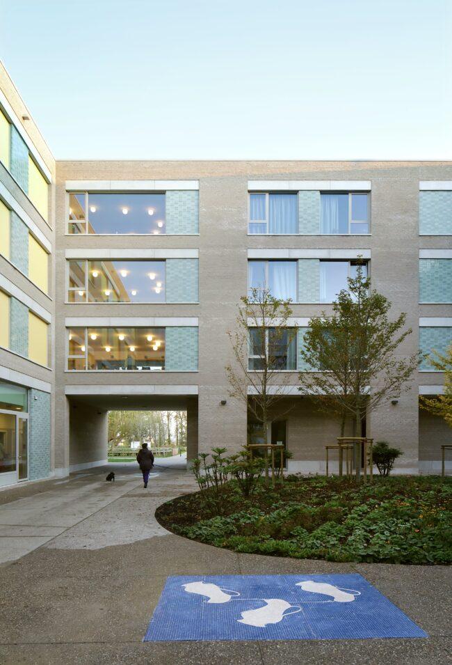Woonzorgcentrum De Drie Platanen, Bovenbouw Architectuur (Foto: Filip Dujardin)