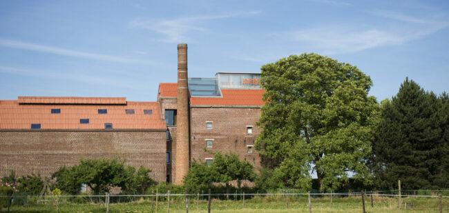 architectenkantoor Delmulle Delmulle Architecten in de voormalige cichoreifabriek (foto: Verne)