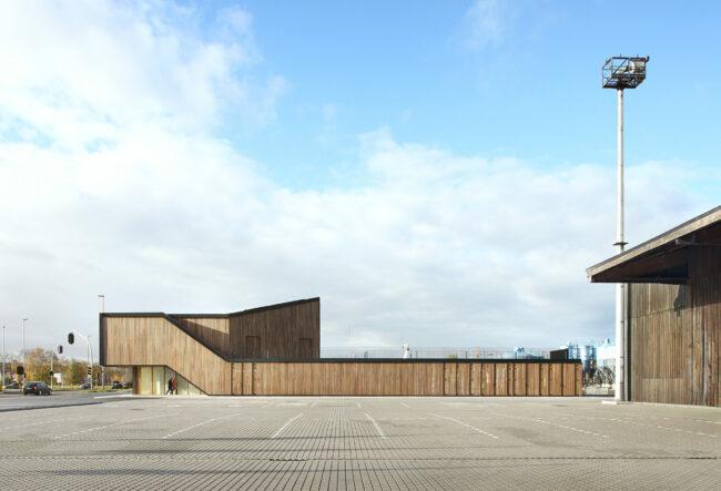 Bezoekerscentrum haven van Gent (Foto: Filip Dujardin)