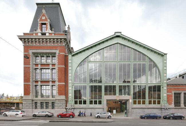 Gare Maritime, Neutelings Riedijk Architects, (Foto: Filip Dujardin)