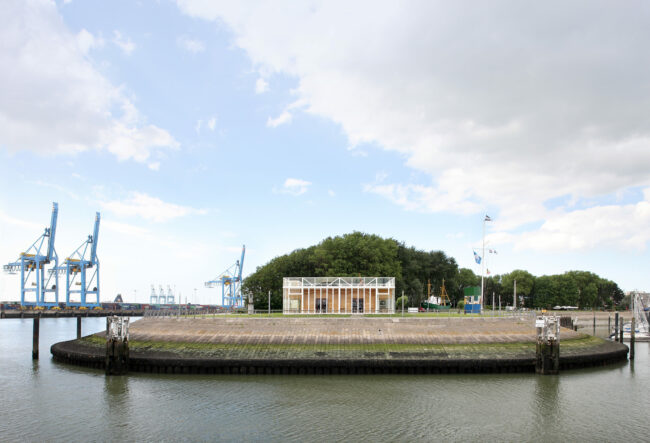 Royal Belgian Sailing Club Alberta, Wim Goes Architectuur, (Foto: Filip Dujardin)