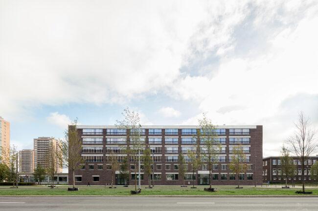 Sociale woningen Luchtbal, Collectief Noord architecten, (Foto: Dennis De Smet)