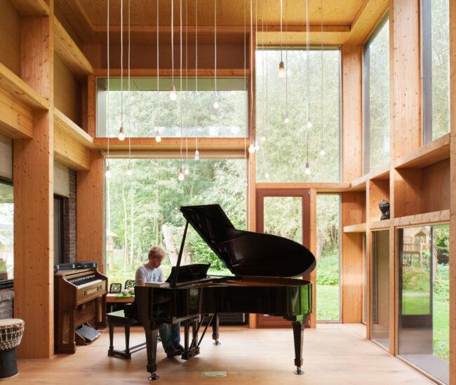 Muziekkamer te Hoogstraten - foto: Nick Van Goubergen