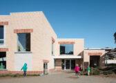Andreas Vesalius Gemeentelijke Basisschool, Bovenbouw Architectuur, (Foto: Stijn Bollaert)