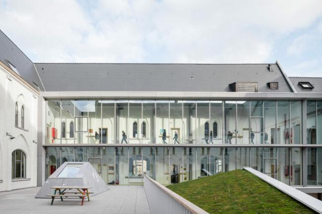 evr-architecten, BuBaO Sint-Lievenspoort (Foto: Stijn Bollaert)