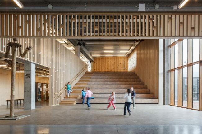 evr-architecten, Academie De Verwerij (Foto: Stijn Bollaert)