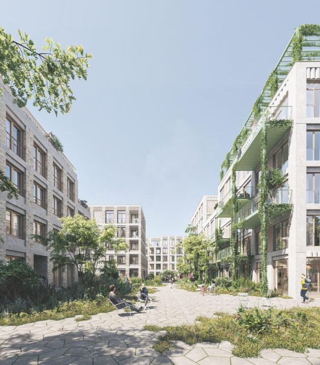 wonen KOMET-site te Mechelen (ism BRUT)