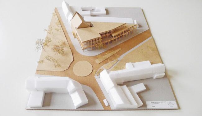 evr-architecten, Dienstencentrum Oostakker (Foto: evr-architecten)