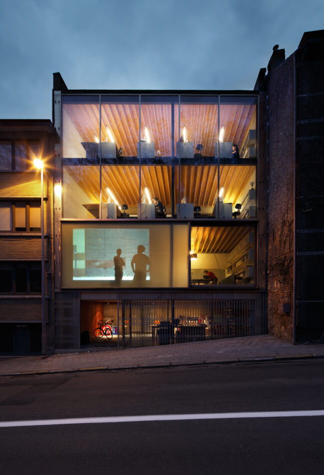 Kantoor WIT architecten (Foto: Stijn Bollaerts)
