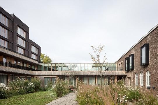Woonzorgcentrum Clarenhof, a2o architecten, (Foto: Stijn Bollaert)