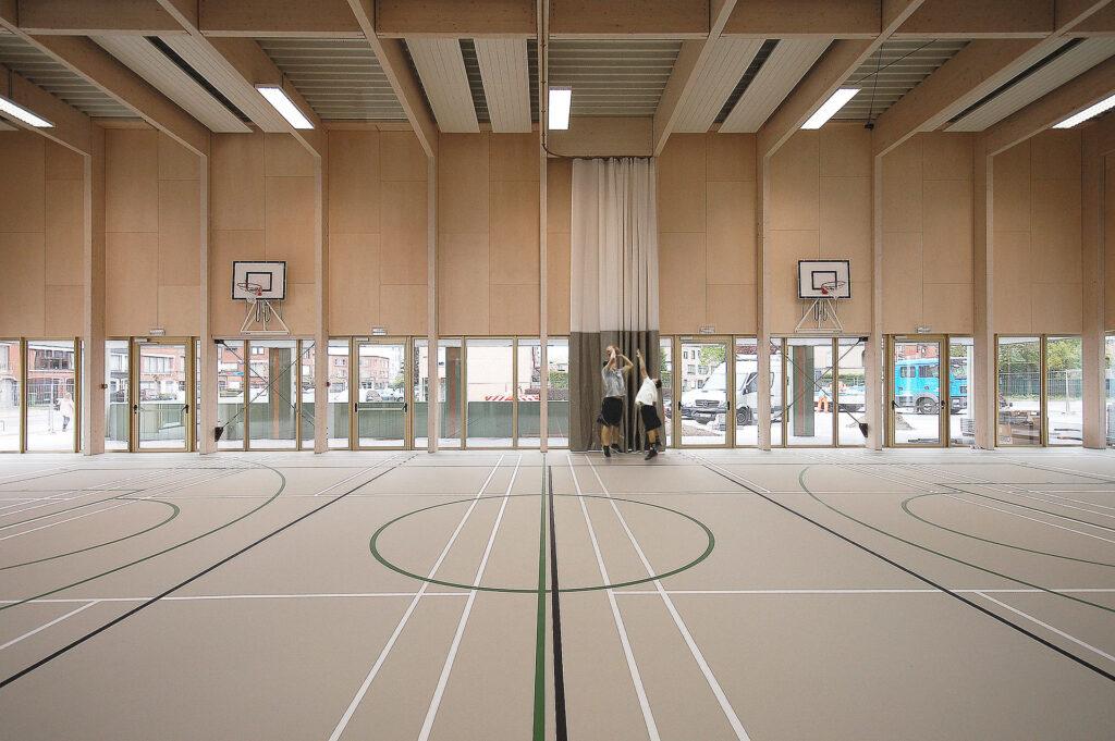 Basisschool Het Laerhof, Areal Architecten, (Foto: Tim Van de Velde)