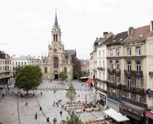 Sint-Gillisvoorplein, Bureau Bas Smets, (Foto: Michiel de Cleene)