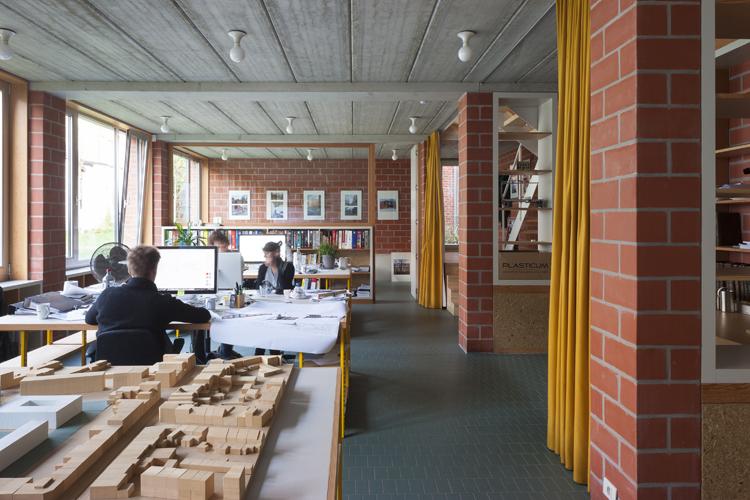 Reconversie Drukkerij, Collectief Noord architecten, (Foto: Liesbet Goetschalckx)