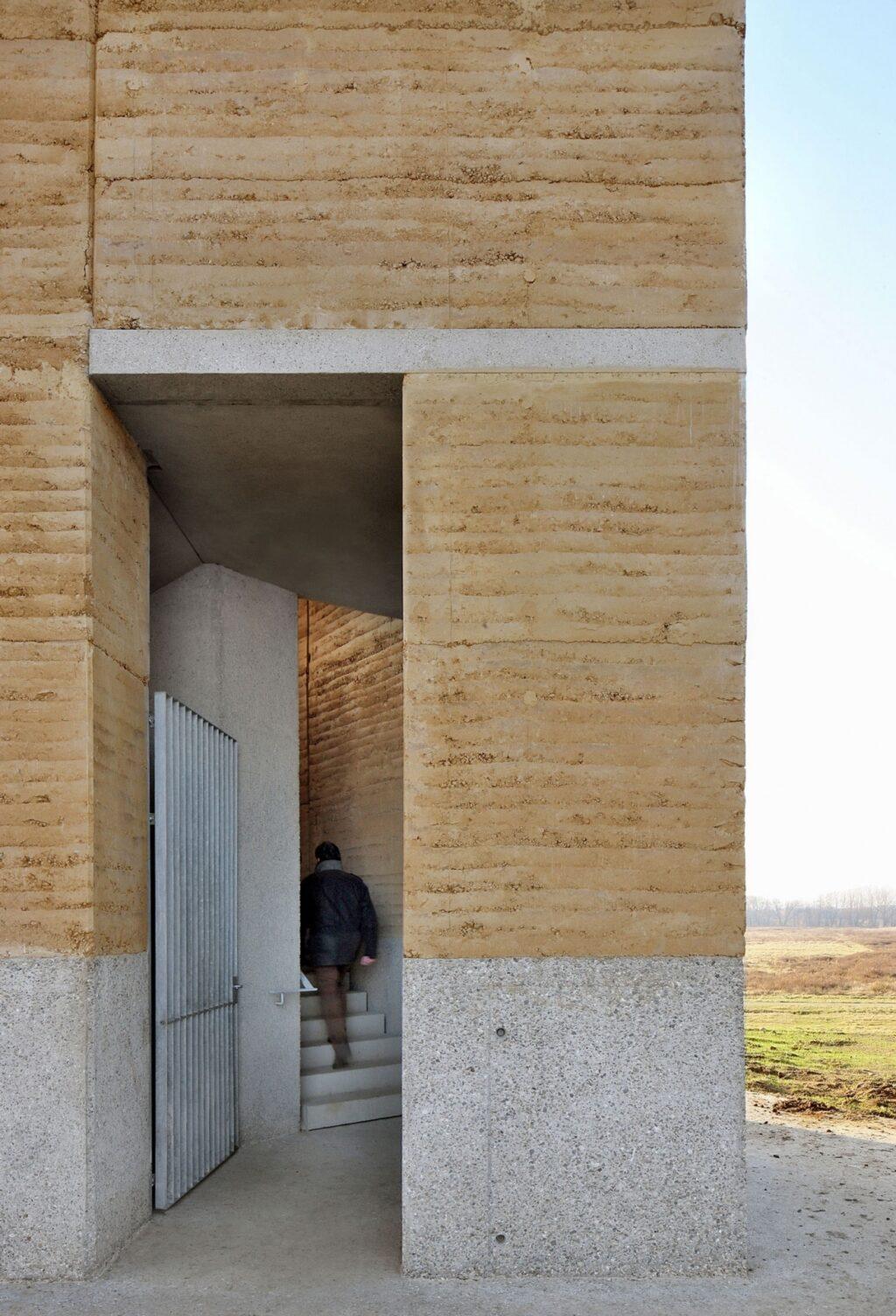 Uitkijktoren Negenoord, De Gouden Liniaal Architecten, BC architects and studies, (Foto: Filip Dujardin)