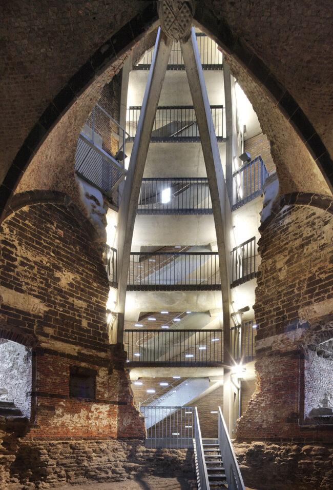 Maagdentoren, De Smet Vermeulen architecten, (Foto: Filip Dujardin)