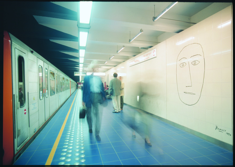 Metrostation Maalbeek, De Smet Vermeulen architecten, Benoît van Innis, (Foto: Bart Van Leuven)