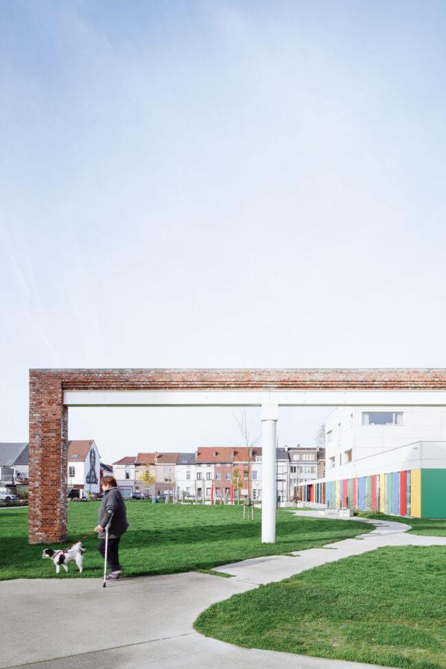 Wijkpark De Porre, Buro voor Vrije Ruimte, Vandriessche Architecten, (Foto: Olmo Peeters)