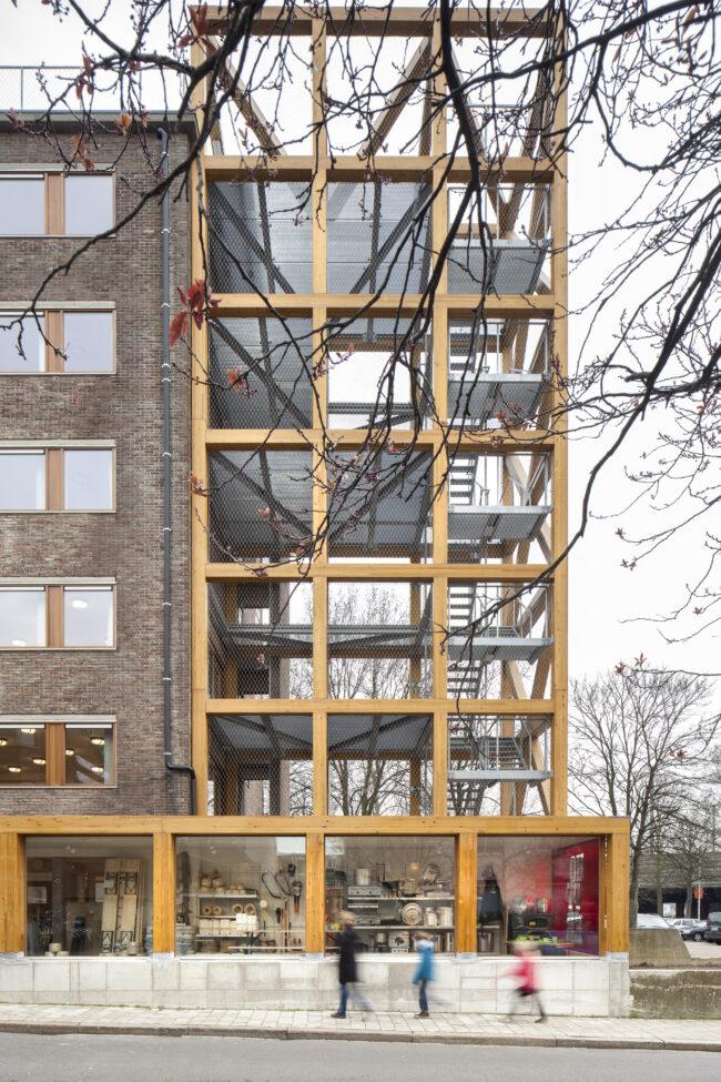 Scoutshuis, B-architecten, (Foto: Ilse Liekens)