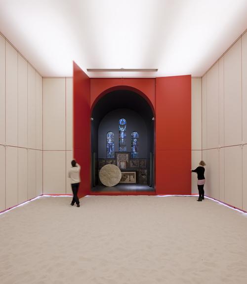 Kapel van de Ontluiking, tc plus, (Foto: Luc Roymans)