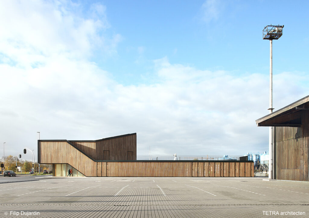 Bezoekerscentrum Havenbedrijf, Architectuurplatform Terwecoren Verdickt, (Foto: Filip Dujardin)