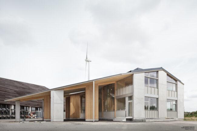 Van Hoorebeke Timber, TRANS architectuur   stedenbouw, (Foto: Stijn Bollaert)